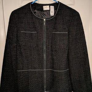 Emma James by Liz Claiborne tweed jacket